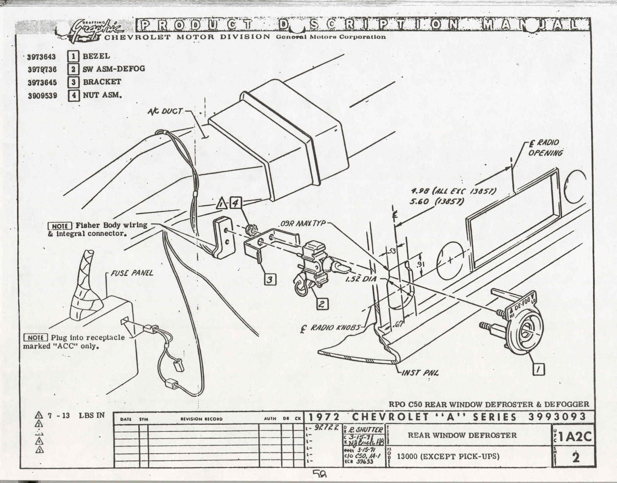 Technicalinfo on gm steering column wiring diagram
